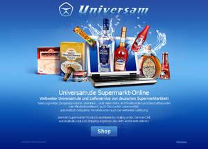 Universam.de splash page