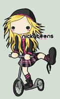 Avril Lavigne Scooter