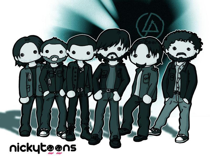 Linkin Park by NickyToons
