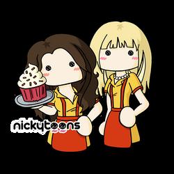 2 Broke Girls by NickyToons