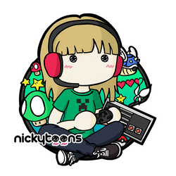 Commission: Girls Gone Geek by NickyToons