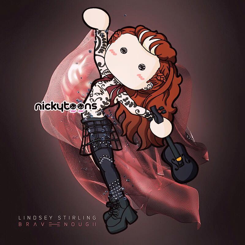 Lindsey Stirling - Brave Enough by NickyToons