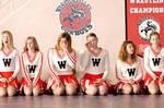 bored cheerleaders