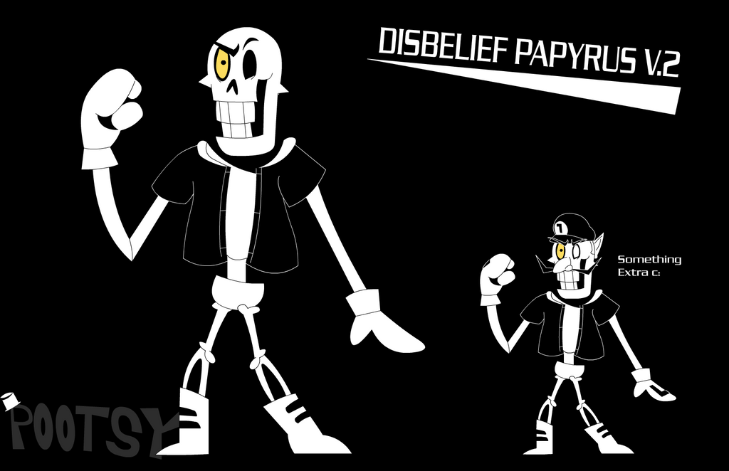 disbelief papyrus~ pootstablookpootstablook on deviantart