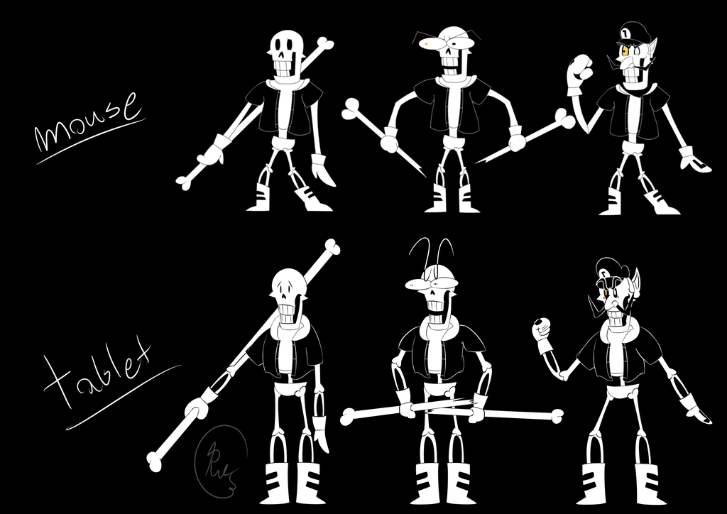 Underpants Disbelief Papyrus Animation - 0425