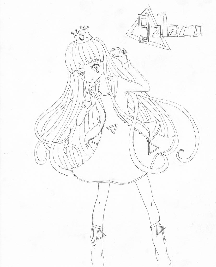 Vocaloid Group Coloring Pages Line art/coloring page by