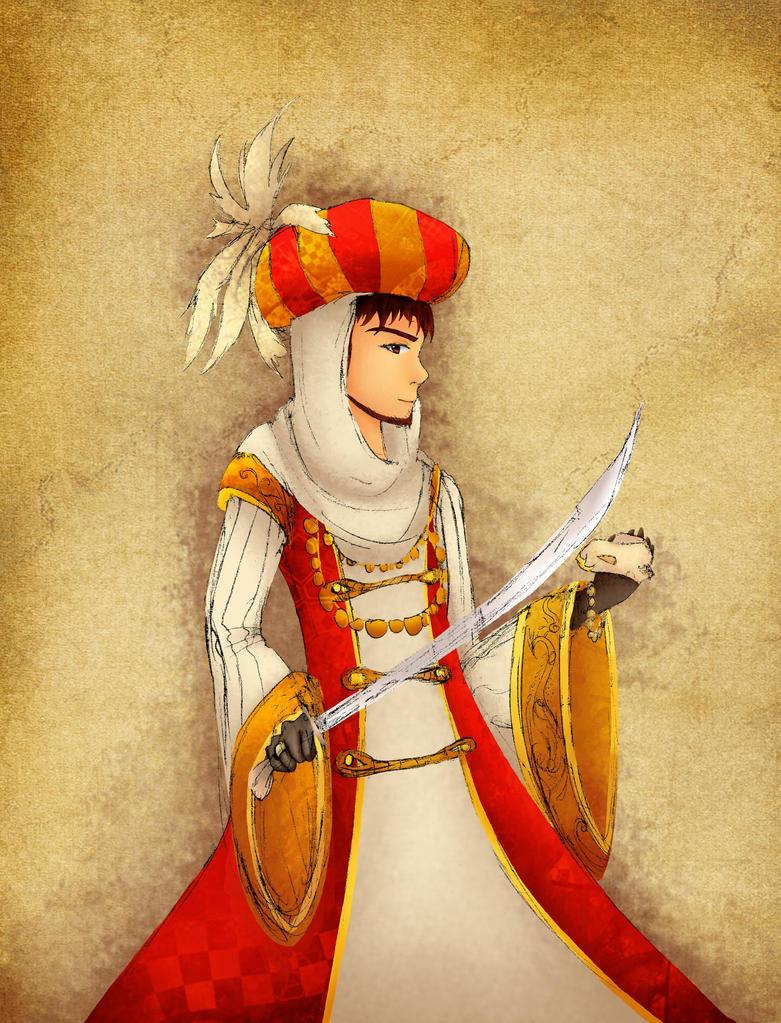 Hetalia- Ottoman Empire by NeoSailorCrystal