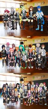 Vocaloid Collaboration: Class Picture