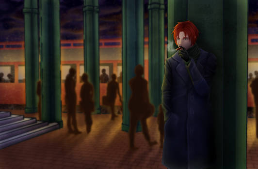 APH: Scotland at the Train Station