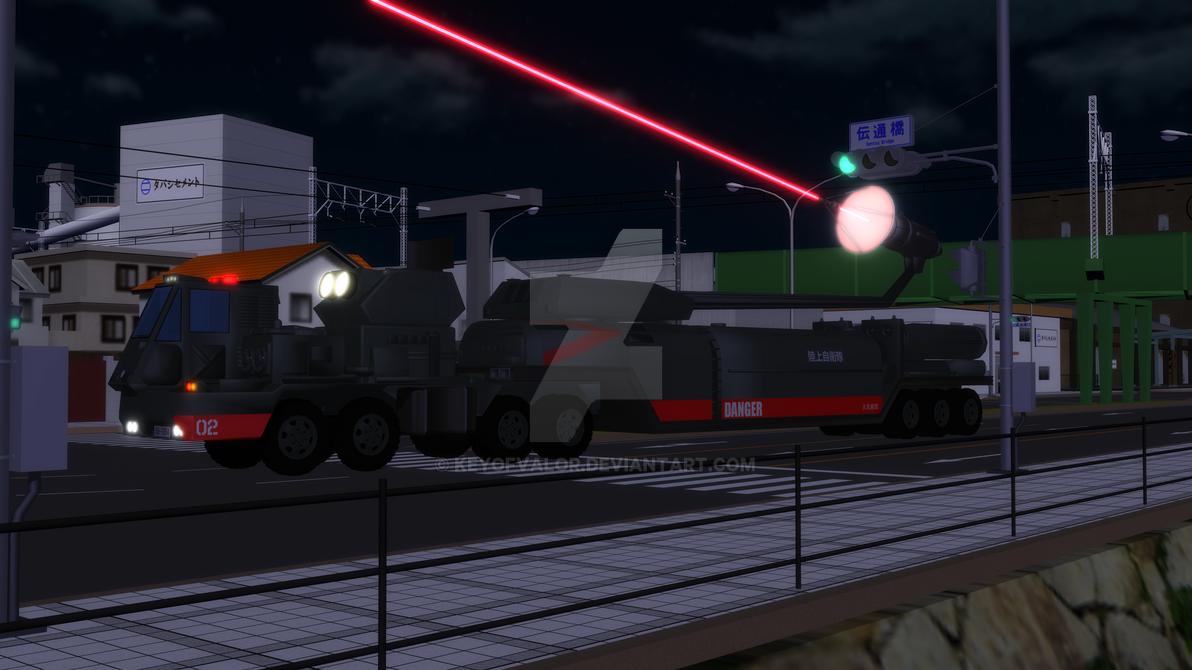 Hyper Laser Cannon by KeyofValor
