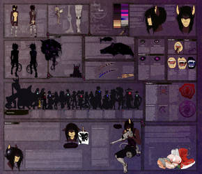 Noir Stitches +epic profile+ by Sindonic