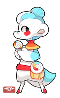 #1008 NomNom BB - Rainbow Lollypop -ATA- by Sindonic