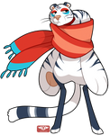 #124 Bavom - Ninja - Snowy Vengance - SALE- CLOSED