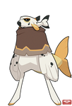 #149 Bavom - Pirate - Dog Face Puffer -SALE - CLOS