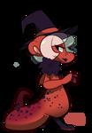 #386 Perfaunt - Red Salamander -AUCTION- CLOSED