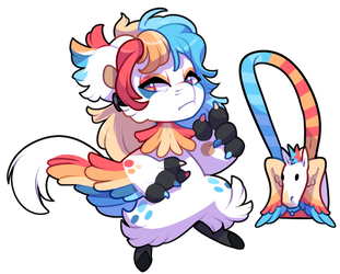 Bagbean 2415 - Colorful Pegasus by Sindonic
