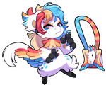 Bagbean 2415 - Colorful Pegasus by Sindonic
