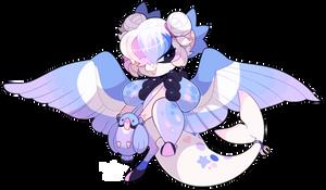 4537 Bagbean - Violet Boreal Rose-ringed Parakeet