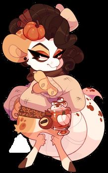 4545 Bagbean - Pumpkin Spice Latte