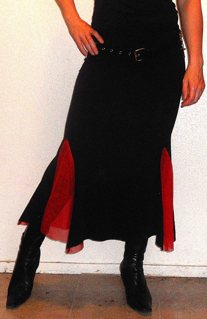 Mermaid Merrywidow skirt by CorvusCallosum