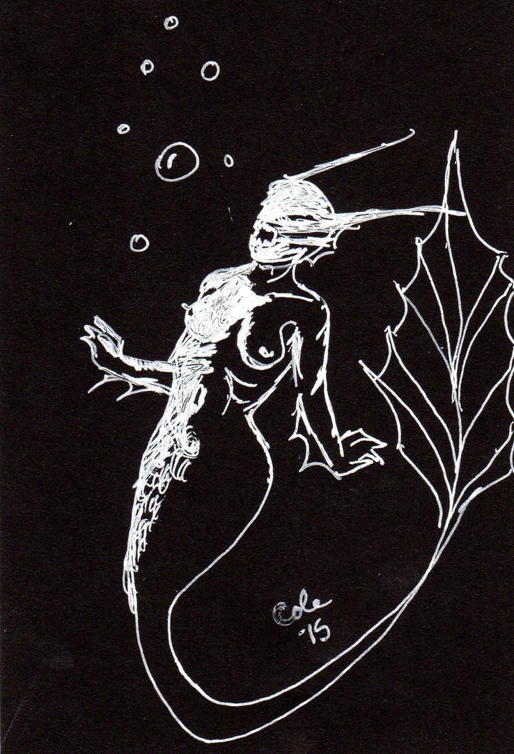 Nosferatu Mermaid by CorvusCallosum