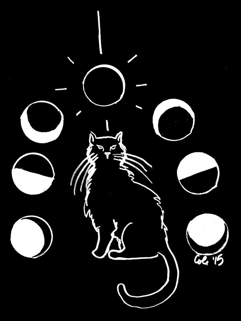 Just a Phase (Semicolon Cat) by CorvusCallosum