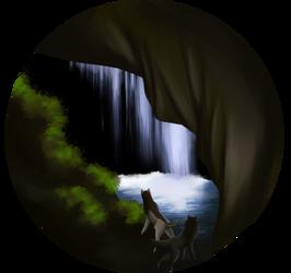 Caving 005 - Hidden Waterfall