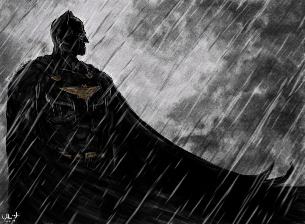 A Batman Sketch by croonstreet