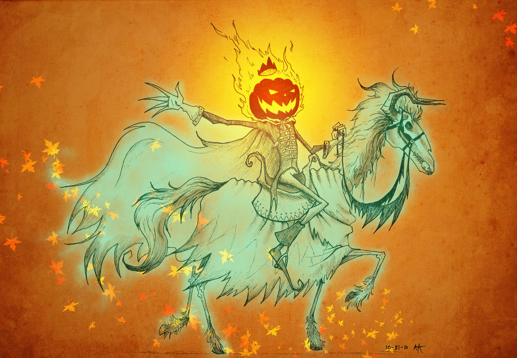 31 DOH: Pumpkin King by croonstreet