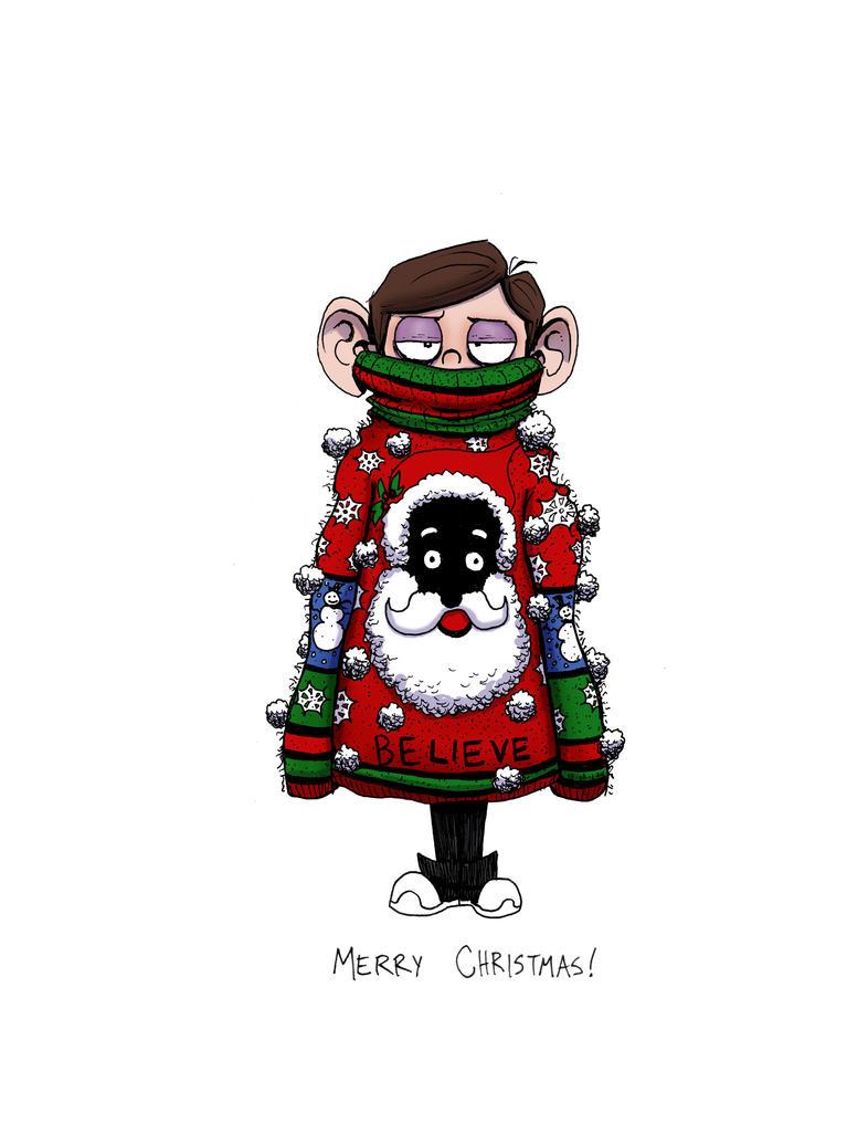 Cartoon Character Christmas Sweaters