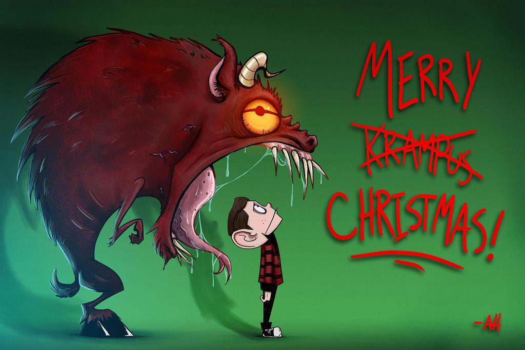 Merry Krampus by croonstreet