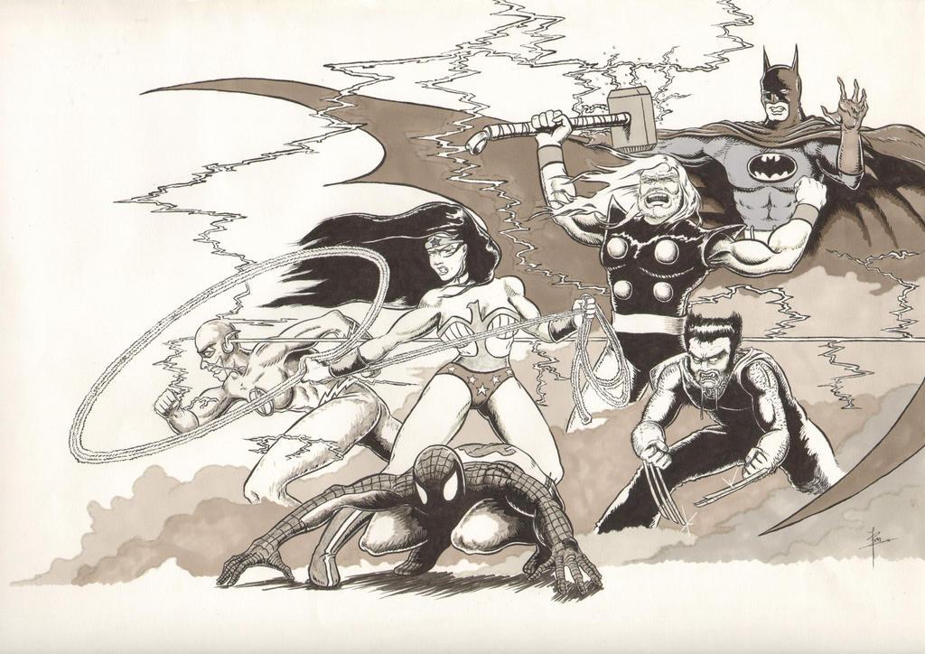 The Super- Dreamteam by ben1804