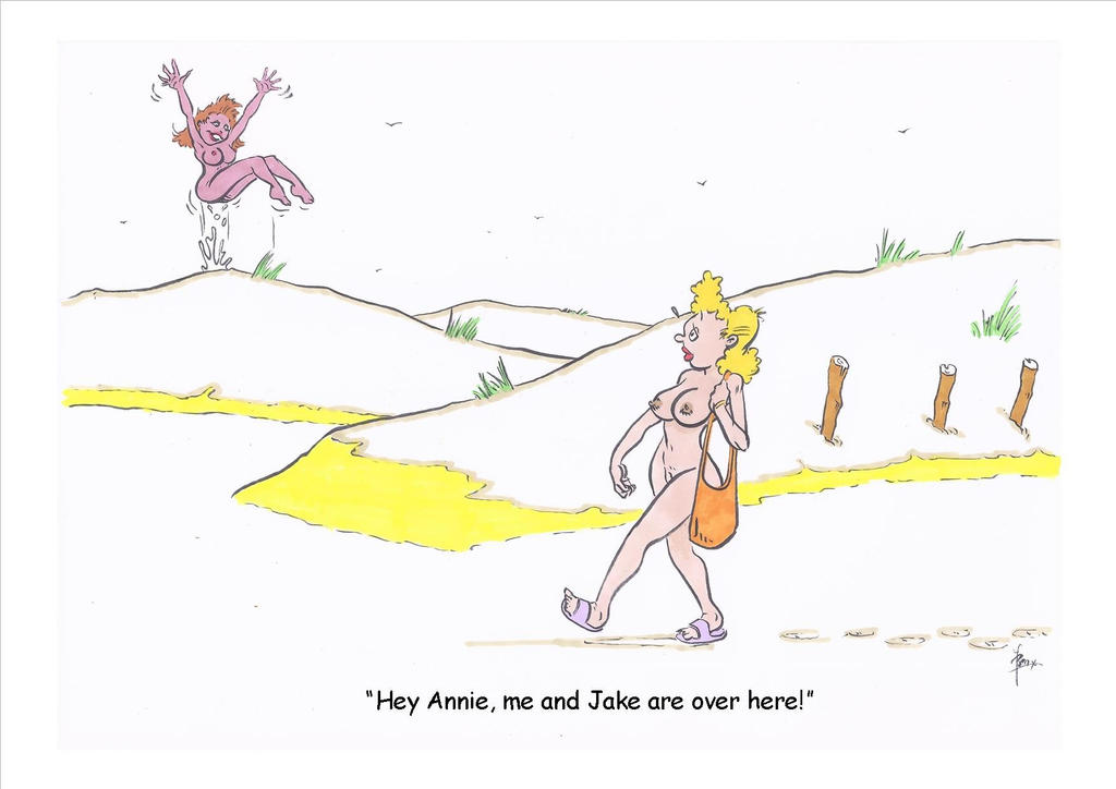 Nudist cartoon 13 by ben1804