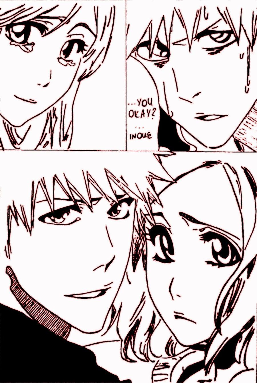ichigo and orihime moments - photo #5