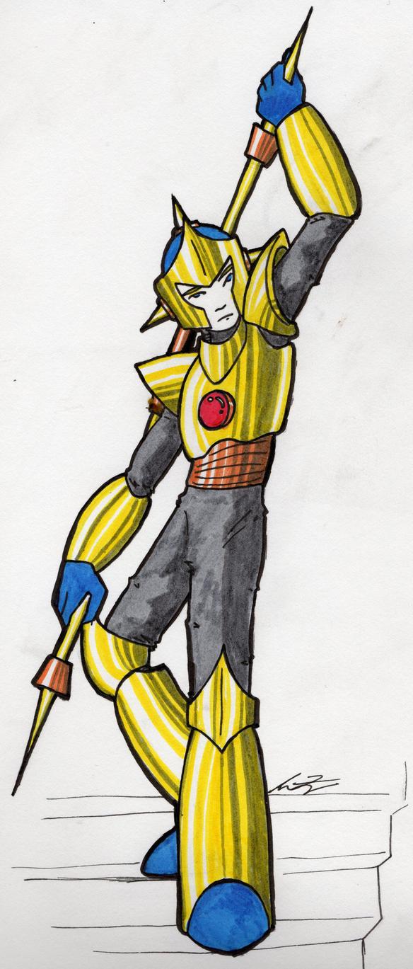 Enker the Gold by Bladedancer