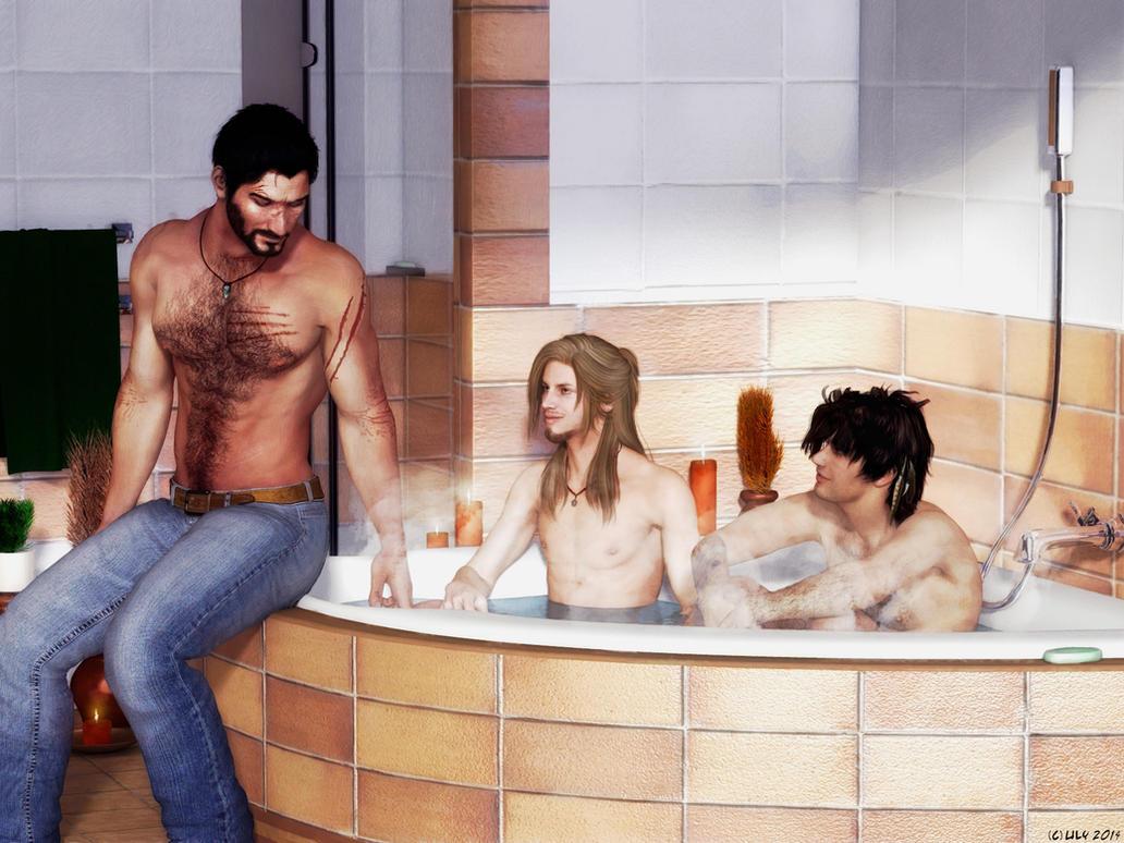 Bath Time by Ulysses0302