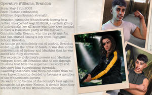 Character File - Brandon