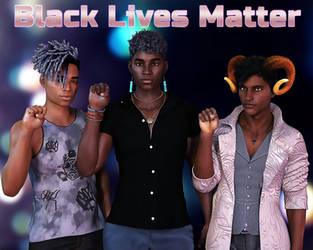 Black Lives Matter by Ulysses3DArt