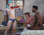 Whitechurch Violins by Ulysses3DArt