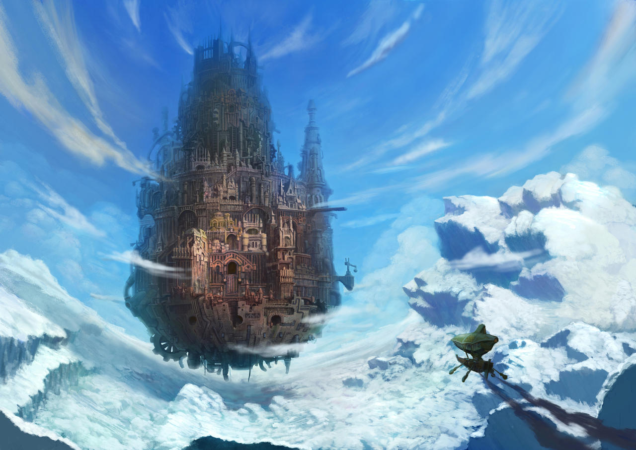 floating castle by bre...