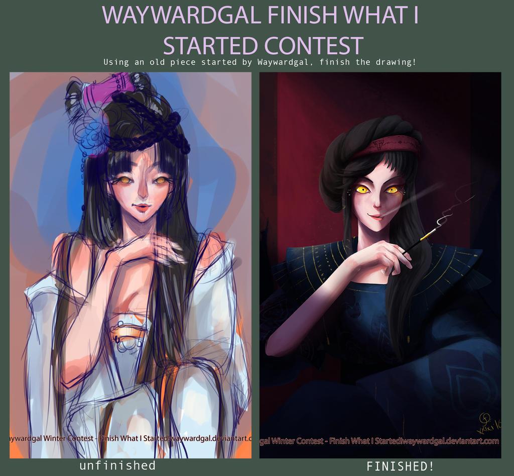 ::Contest:: Waywardgal Winter Contest by Unistonen