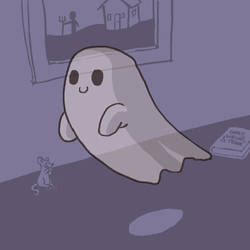 A Ghost!