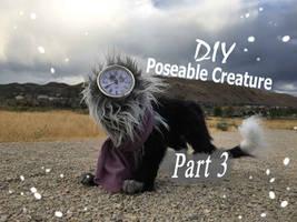 DIY Poseable Creature Part 3