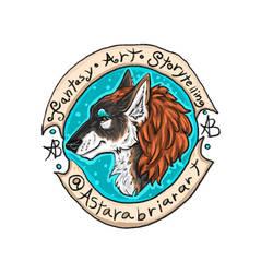 New Astarabriarart Logo Thing
