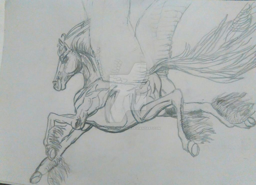 Pegasus by Morgaine-Demonia