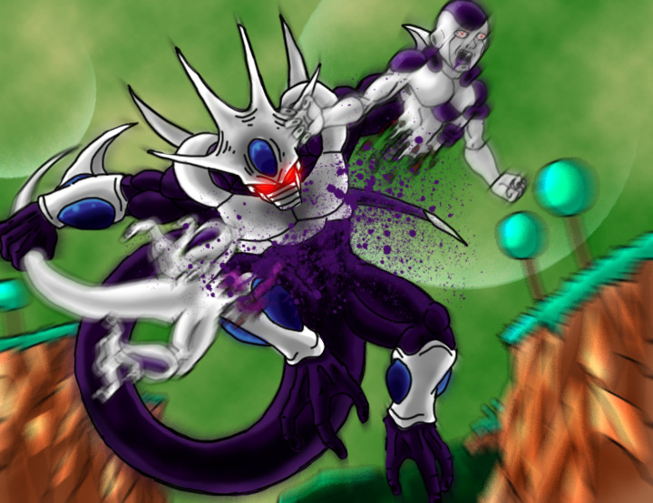 DBZ Pwnage: Cooler vs. Frieza by Virus-91 on DeviantArt
