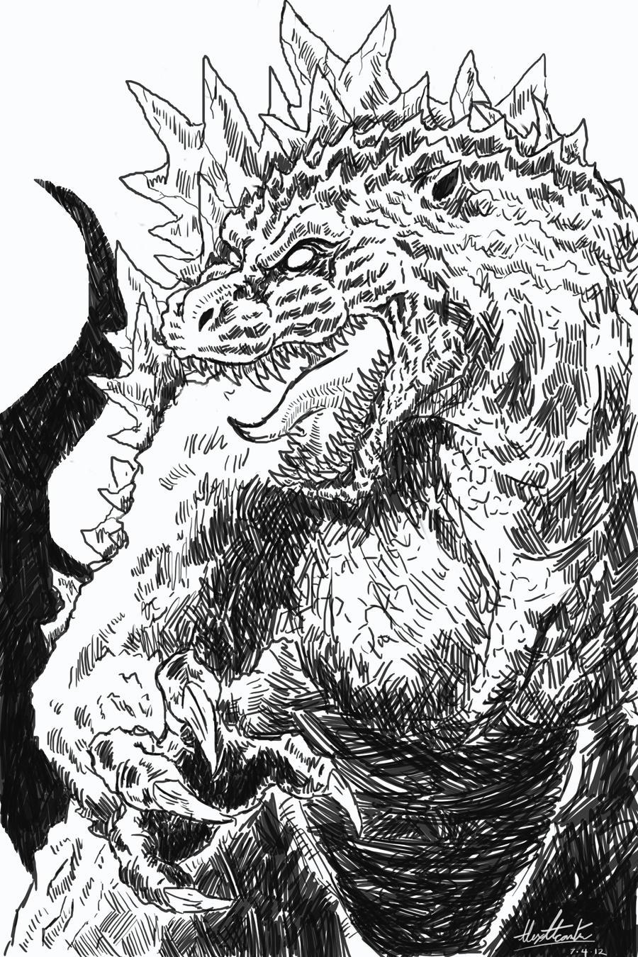 Godzilla Returns by Virus-91