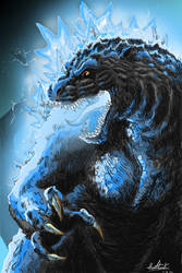 Godzilla Returns in Color by Virus-91
