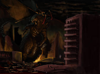 Godzilla and the Missing Battle by Virus-91