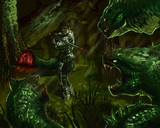The Hydra Hunter by Virus-91